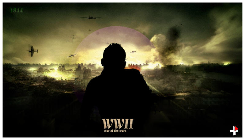 world war II by menduza