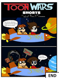 Toon Wars Shorts: What Planet by Frozarburst
