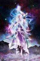 Varda, Lady of the Stars by skinnyuann