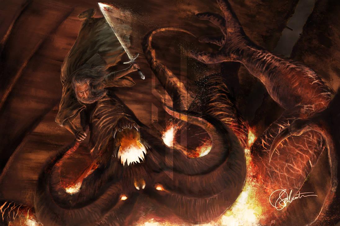 Flame of Udun by skinnyuann