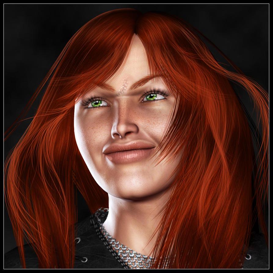 Portrait of Shamira by LesleyG