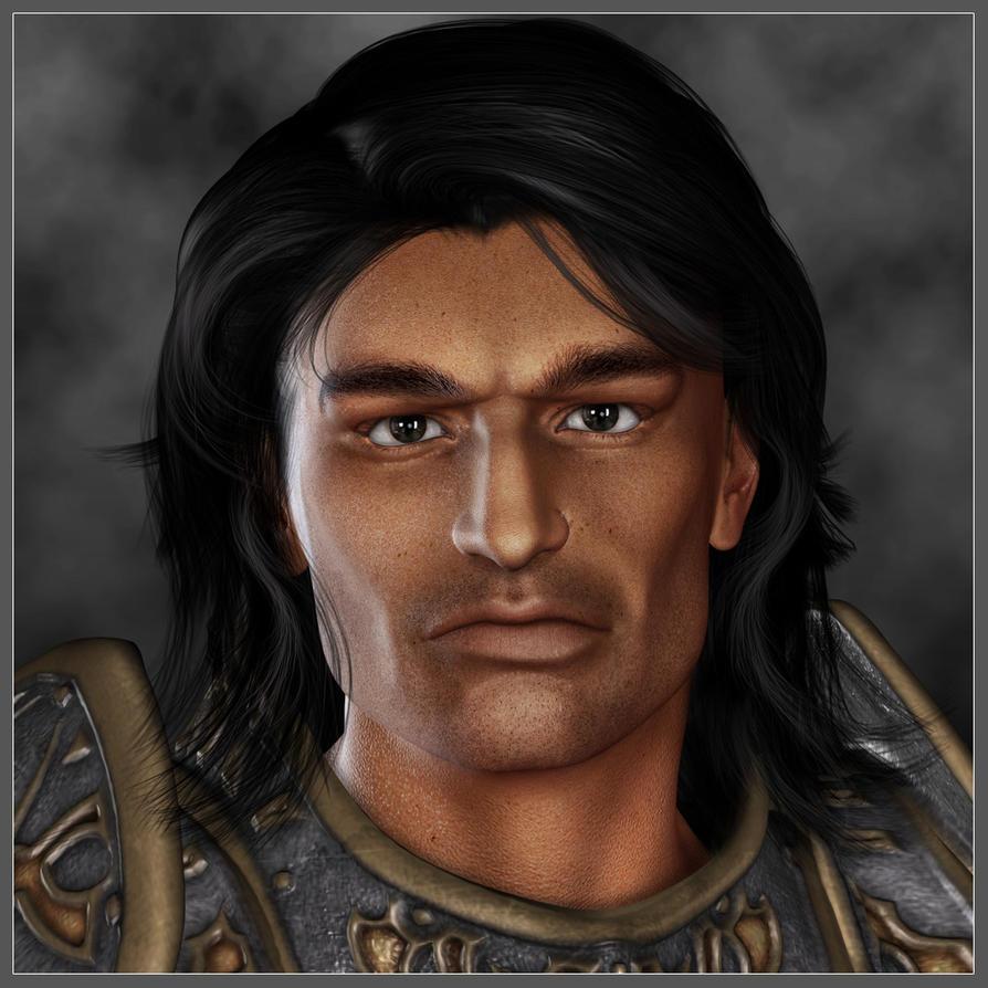 Portrait of Vian Whitebull by LesleyG