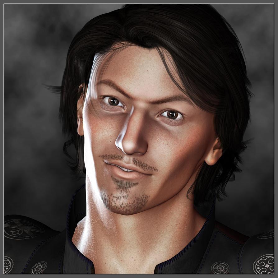 Portrait of Vindicare by LesleyG