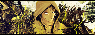 Laxus Sign by HookRf
