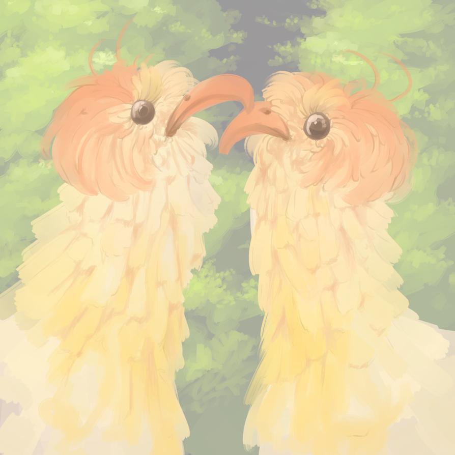Doodle: Birds by ElfSama