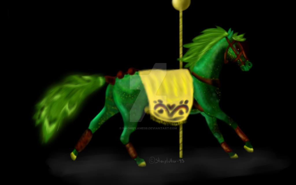 Carousel Stallion Adopt Auction by NaomiFlame08