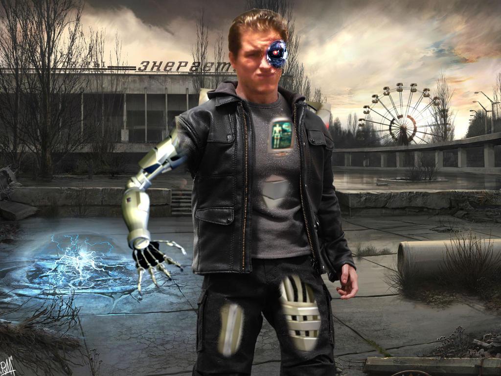 Dave Gordon as Terminator by AntonellisofbBender