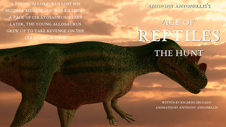 Age of Reptiles the Hunted, DVD box pictures front