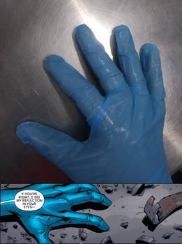 the glove of Tim Drake (Batman)