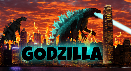 Godzilla 2022 poster