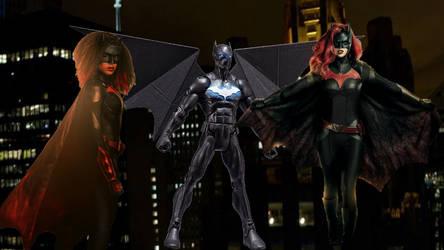 Arrowverse Bat team