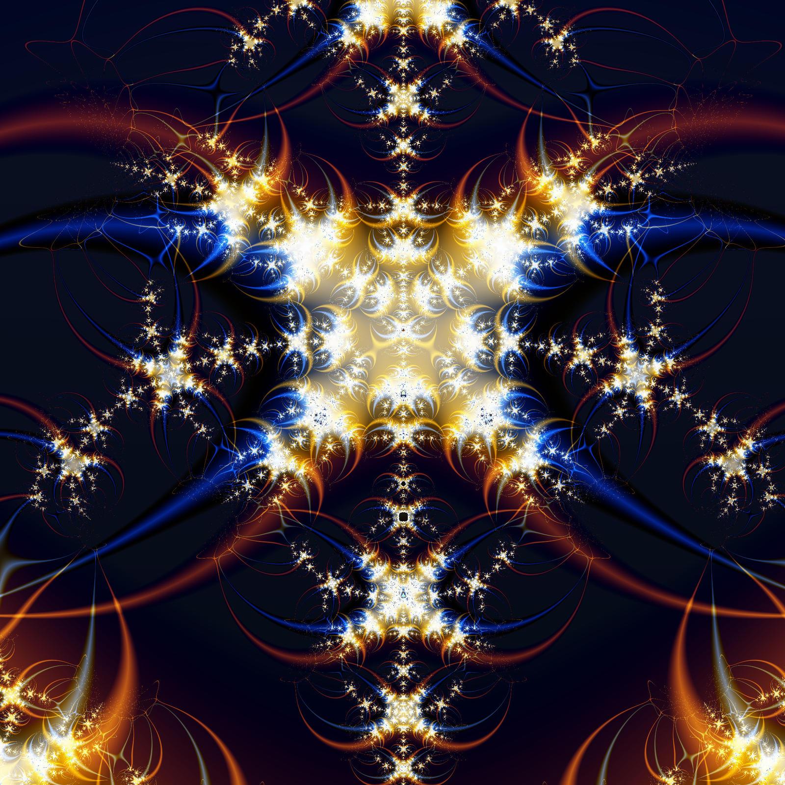 Crescent Star by FractalBlaze