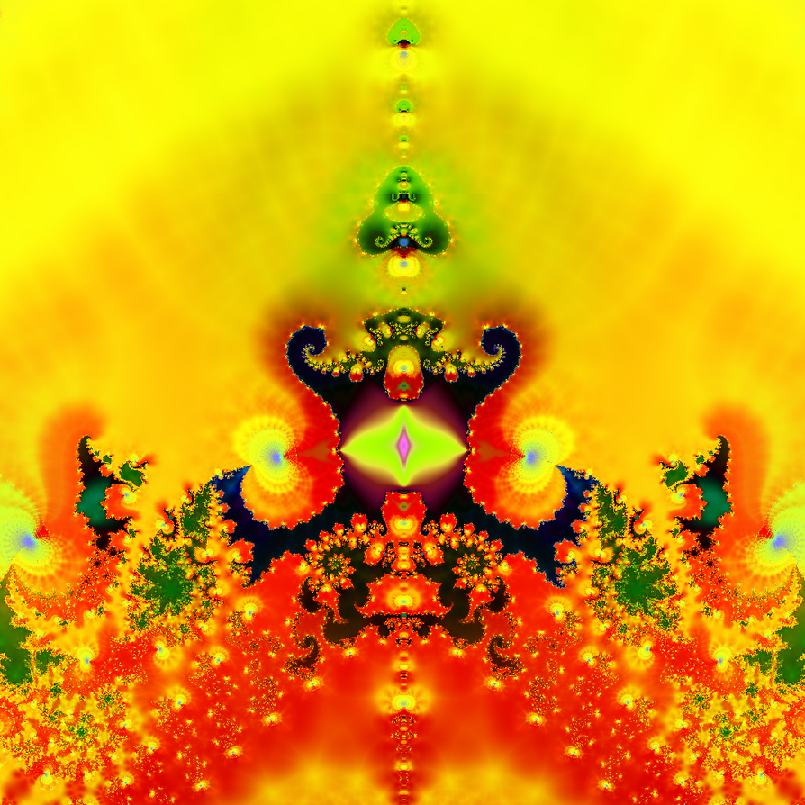 All-Seeing Fractal by FractalBlaze