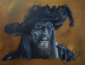 Captain Barbossa by annieoakley64
