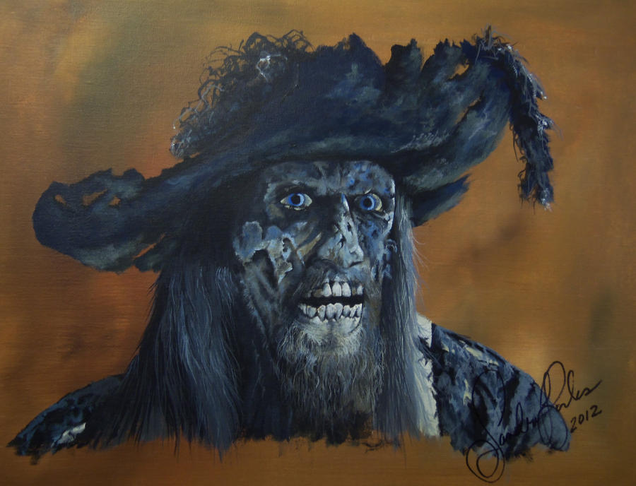 Captain Barbossa by annieoakley64