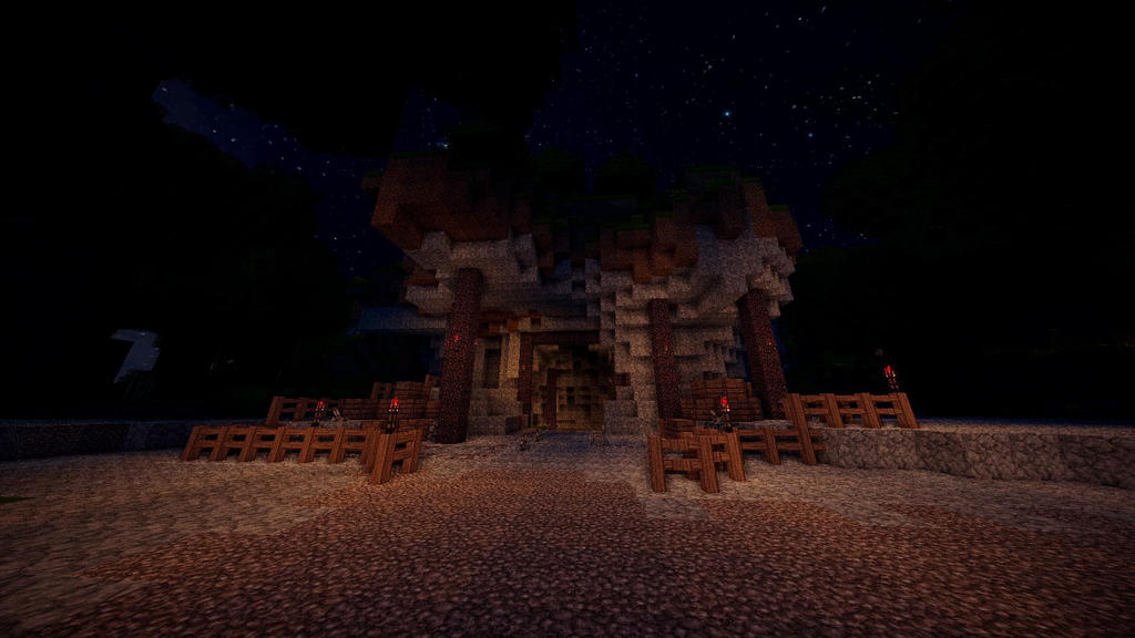 Minecraft Mine Entrance TheRoleplayWorld By GamerPeons