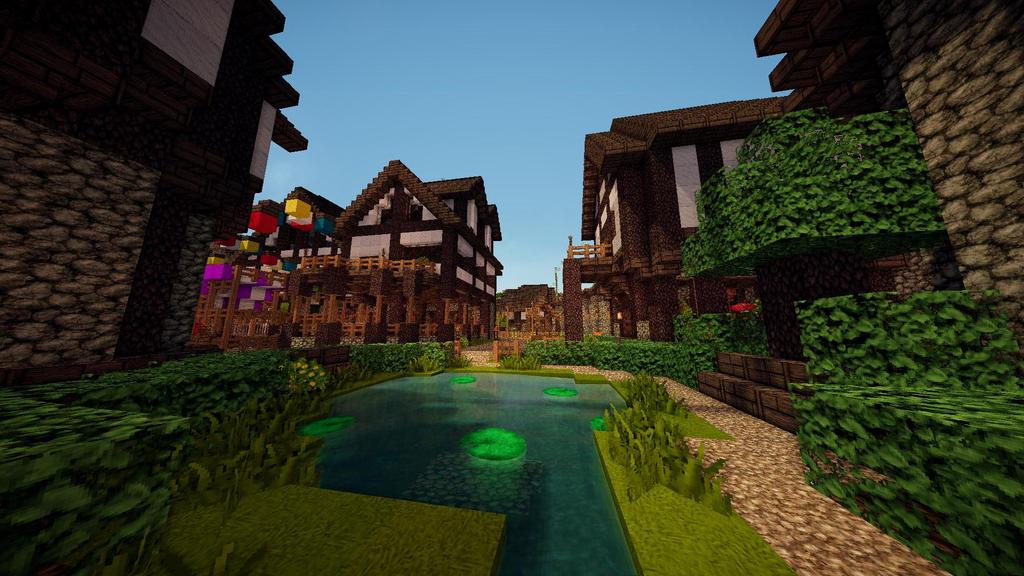 minecraft town garden theroleplayworld by gamerpeons - Minecraft Garden