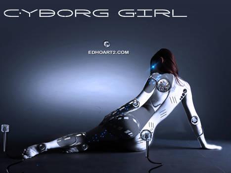 Whiteblue Cyborg