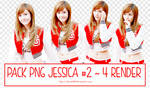 PACK PNG JESSICA #2 ~ 4 RENDER