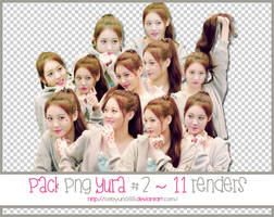PACK PNG YURA #2 ~ 11 RENDERS by CeByun688