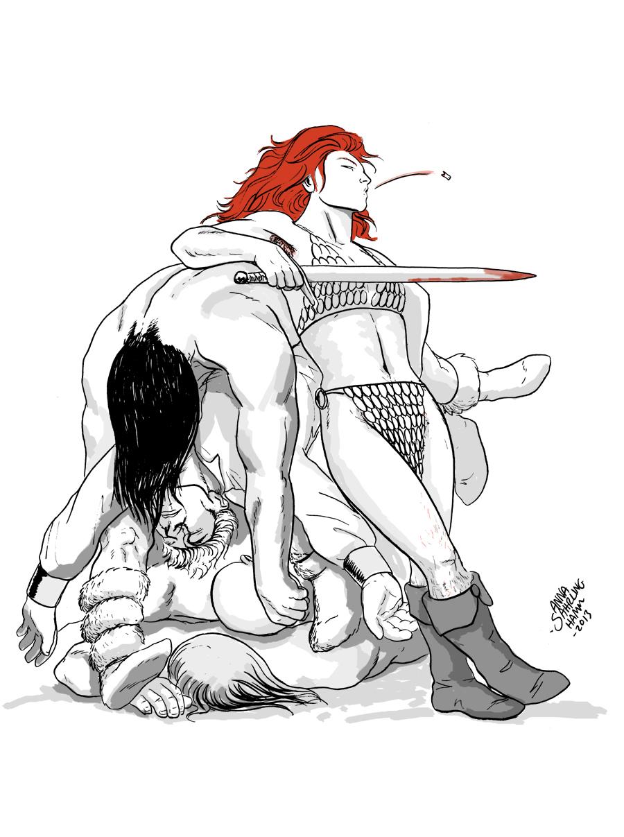 Red Sonja by pointsforeffort