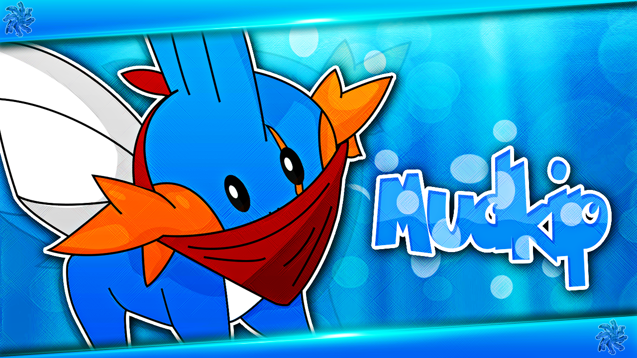 mudkip wallpaper by actyl0 on deviantart