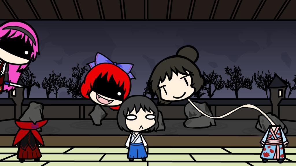 Youkai Files: Rokurokubi and Nukekubi by Disgaea4everdood