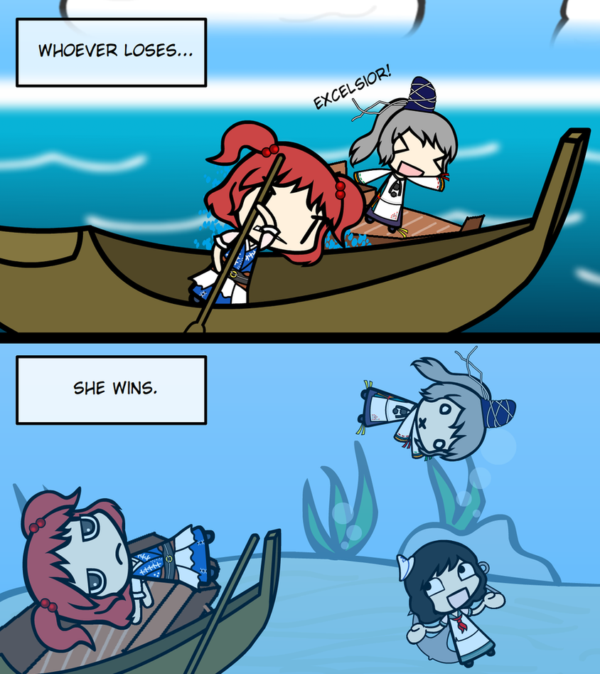 Boat Racing by Disgaea4everdood