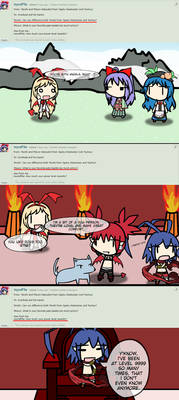[Overlord Replies] - Tenshi, Dogs, and Power Level