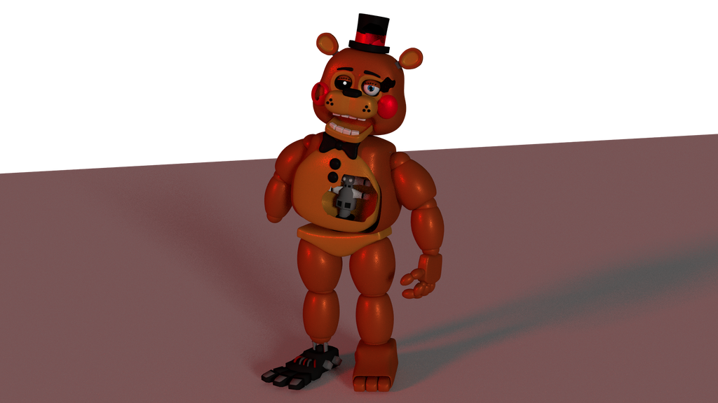 Old Freddy Toys : Old toy freddy by razartonic on deviantart