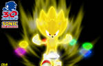 Super Sonic 30th Anniversary Render