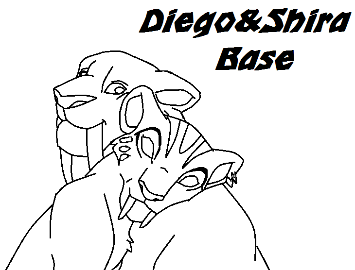 diego ice age coloring pages - photo#19