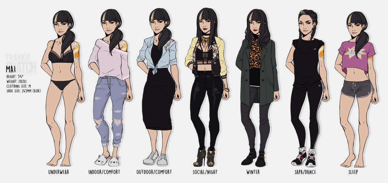 fS: Mai wardrobe by bonhwaJP