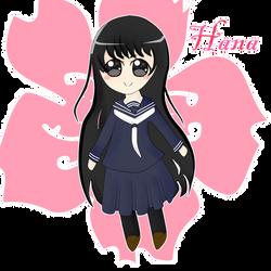 Chibi Hana-chan by ayshamostafiz