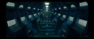 Prison corridor 3