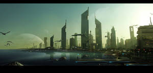 Matte painting 6