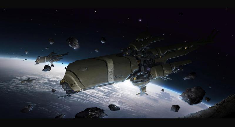 Low Orbit 3 by TheUncannyKen