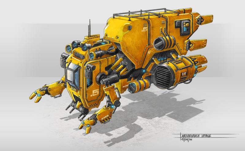 Machine by TheUncannyKen