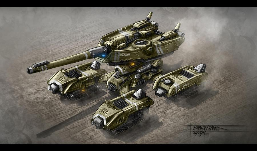 Tank 6 by TheUncannyKen