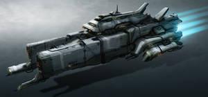 Space Ship 04 by TheUncannyKen