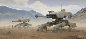 Desert Mechs