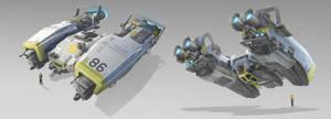 Tug Spaceship