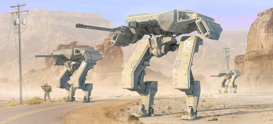 Desert Mechs 2