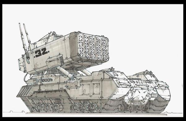 Tank 1 by TheUncannyKen