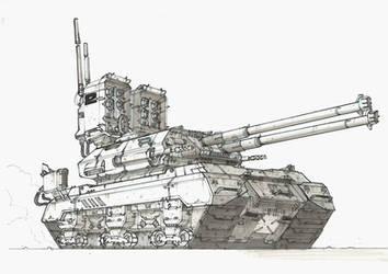 Tank 2 by TheUncannyKen