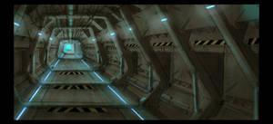 Prison corridor 1
