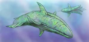 Alien sea creatures