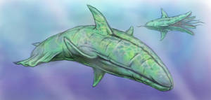 Alien sea creatures by Grumbleputty