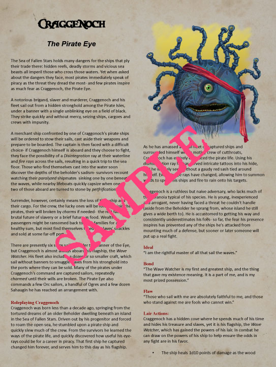 I, Tyrant: Seven Beholders for 5e - Dungeon Masters Guild