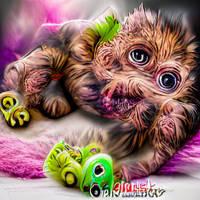 Cute Cuddly Monster